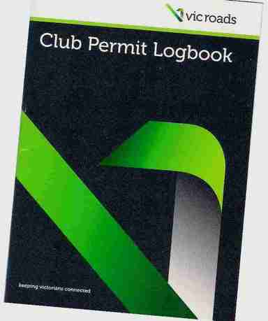 Picture of Club Permit Book